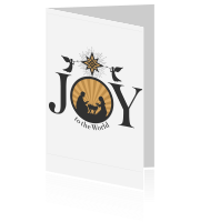 Joy to the world kersttafereel